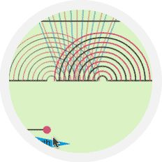 Interact with interference patterns in our latest interactive PLIX!  #physics #interactive