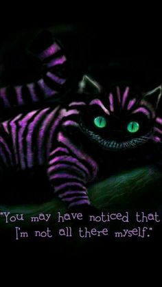 Phone wallpaper quotes disney alice in wonderland cheshire cat ideas Cheshire Cat Alice In Wonderland, Alice And Wonderland Quotes, Wonderland Party, Alice In Wonderland Pictures, Lewis Carroll, We All Mad Here, Go Ask Alice, Chesire Cat, Alice Madness