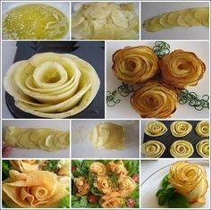 Creative and Stunning Potato Roses for You to Try | Stylish Board