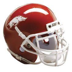 Arkansas Razorbacks NCAA Authentic Full Size Helmet