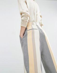 Boys' Clothing (newborn-5t) Bottoms Helpful Zara Striped Trousers 12-18 Months Bnwt By Scientific Process