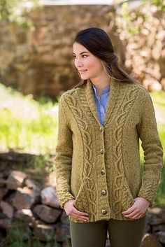 Ravelry: Roosevelt Cardigan pattern by Amanda Scheuzger