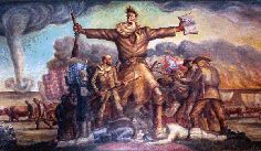 john brown | ks abolitionist  painting by John Steuart Curry