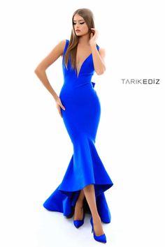 Big Dresses, Girls Dresses, Formal Dresses, Royal Blue Evening Dress, Evening Dresses, Miss Independent, Sew Dress, Moda Vintage, Luxury Fashion