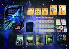 Race for the Galaxy, core Game, 7.8 BGG rating.
