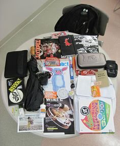 The Stuff In Al's Bag - http://osaka-mega.com/the-stuff-in-als-bag-2/