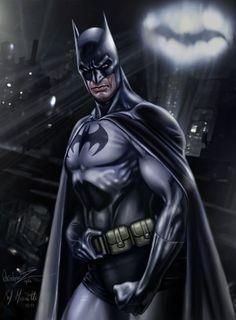 Batman by Raffaele Marinetti