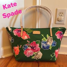 "NWT Kate Spade Kennedy Park Sophie Floral Simply Beautiful!!!  Description in the pictures. Priced to sell!!  15.5""x10""x6.5"" kate spade Bags Shoulder Bags"