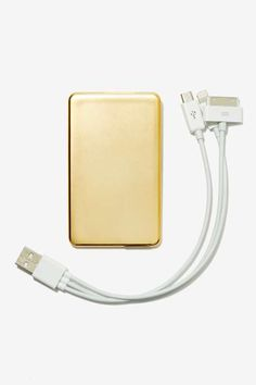 Universal Juice Portable Power System - Gold - Gifts + Home