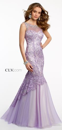 Camille la vie prom dresses for the party prom style: long п Stunning Dresses, Beautiful Gowns, Elegant Dresses, Pretty Dresses, Beautiful Outfits, Mermaid Prom Dresses, Homecoming Dresses, Purple Prom Dresses, Lavender Dresses