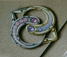 Jewelry illustration.