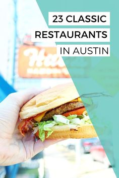 With so many great restaurants popping up around Austin each month, it's important to also remember the classics. They really make up the diverse food scene in Austin and there are so many good ones! Here is my guide to the best classic restaurants in Austin, Texas. #atxeats #austintexas #visitaustin