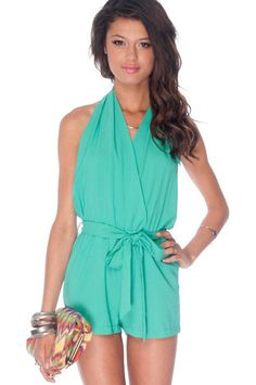 At the Halter Romper in Jade $37 at www.tobi.com.  And I'm buying this immediately!!!