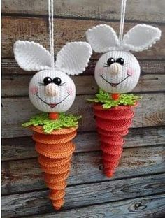 [Free Pattern] These Little Easter Bunnies Are So Cute, It Is Impossible To Pick A Fave! Baby Knitting Patterns Toys We eat! This Pin was discovered by Вар Crochet Animal Amigurumi, Amigurumi Patterns, Baby Knitting Patterns, Crochet Toys, Amigurumi Tutorial, Holiday Crochet, Easter Crochet, Crochet Bunny, Crochet Round