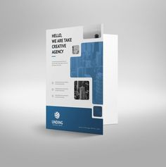 Ares Modern Corporate Presentation Folder Template 001216