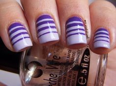 easy and fun nail ideas purple