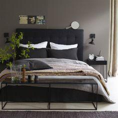 Funda de almohada Ligne de lino lavado