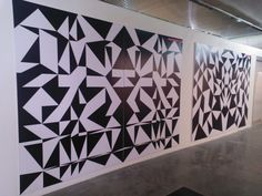 A cool wall design
