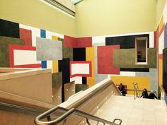 Color blocking at the Tate Britain