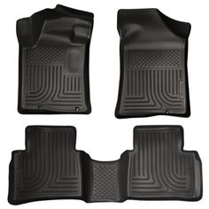 2014  2015 Nissan Altima  WeatherBeater Floor Mats Liners  Husky Black Front  Rear ** See this great product.