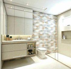 from @carolcantelli_interiores -  Ainnn, tãooo fofíneo!!!  Morreniiii de amores por esse banheiro social !! Esse revestimento Color HD Dec Mix da @ceramicaportinari fez toooda diferença! Tons terrosos que deixam o ambiente alegre e sofisticado! No piso e nas paredes usei o Crema Valencia que eu tb aamo, os dois casam suuper bem, ficam em perfeita sintonia! AMO! ❤ Projeto e render: @carolcantelli_interiores  - #regrann  #porcelanato #ceramicaportinari #parede #revestimento #acabamento #b...