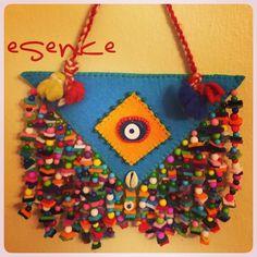 keçe, keçe nazarlık, amulet, charm, felt, feltro, nazarlık, Turkish amulet