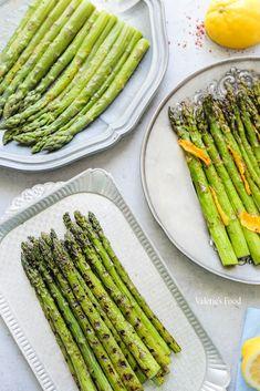 SPARANGHEL GĂTIT ÎN 3 MODURI   Rețetă + Video - Valerie's Food Raw Vegan Recipes, Vegetarian Recipes, Cooking Recipes, Healthy Recipes, Yummy Recipes, Good Food, Yummy Food, Diy Food, Asparagus