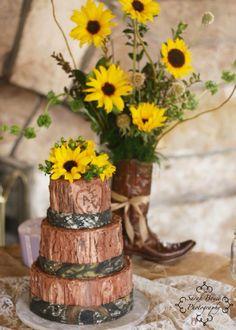 Camo wedding by A New Beginning Florist-Moore, OK. Camo Wedding, New Beginnings, Table Decorations, Furniture, Home Decor, Decoration Home, Room Decor, Home Furnishings, Home Interior Design
