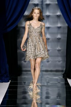 Dress worn by Blair Waldorf on Gossip Girl Finale - Zuhair Murad - Haute Couture Fall Winter 2010/2011 - Shows - Vogue.it