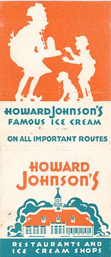 Howard Johnson's Restaurant and Motels,,Matchbook Cover My Childhood Memories, Great Memories, Summer Memories, Vintage Advertisements, Vintage Ads, Howard Johnson's, Photo Vintage, I Remember When, Thing 1