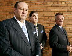 James Gandolfini as Tony Soprano, with Steven Van Zandt and Tony Sirico, is dead at 51.