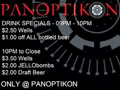 ...:::SUPER DRINKS FOR YOUR BODY:::... ....:::ONLY AT PANOPTIKON:::.....