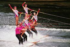 US Water Ski Show Team by rfroberts1, via Flickr