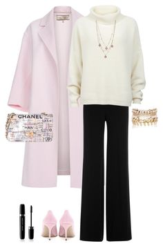 """""""Pieces in Pink."""" by marykatetus on Polyvore featuring Paul Smith, Diane Von Furstenberg, Designers Remix, Miu Miu, River Island, Betsey Johnson, Chanel and Marc Jacobs"""