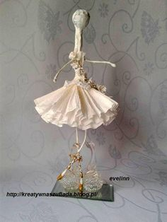 baletnica z drucika i krepiny