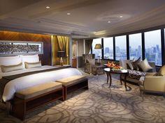 A guest room at InterContinental Bangkok.