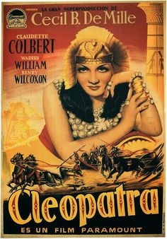 El señor de los bloguiños: Cleopatra (1934) de Cecil B. DeMille