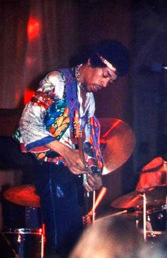 Jimi Hendrix at the appropriately named Swing Auditorium in San Bernardino, CA, June 20, 1970