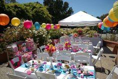 Alice in Wonderland Tea Party Birthday Party Ideas   Photo 10 of 25