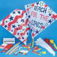 Color-Me™ High Flying Kites  (makes 12)