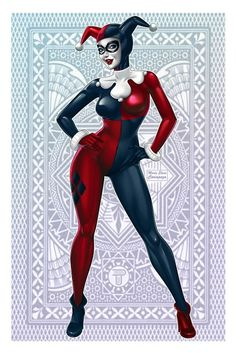Harley Quinn - I have a friend who loooooves her. Yes Anna, that's you :P