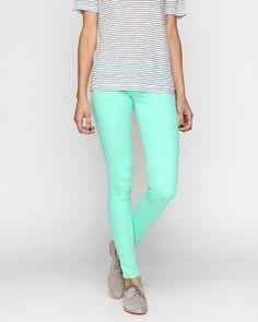 The Skinny Pant In Jade