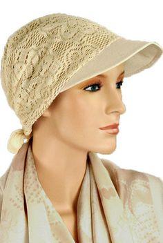 $24.50 - Tan Brimmed Hat - @ hatsforyou.net #cancer #chemo #alopecia #hair loss
