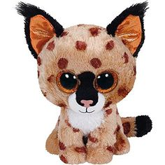 Beanie Boo Plush - Buckwheat the Lynx by Ty Beanie Boos. Gift-wrap available. Ty Beanie Boos, Beanie Babies, Ty Babies, Ty Toys, Kids Toys, Ours Boyds, Lynx, Ty Peluche, Cute Stuffed Animals