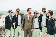 Les témoins du marié