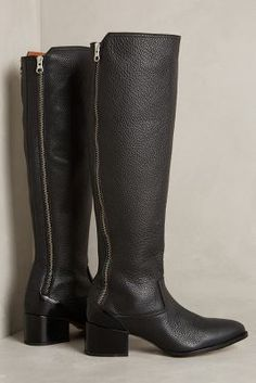 67 Collection Amelia Boots Black Boots  #anthrofave #anthropologie