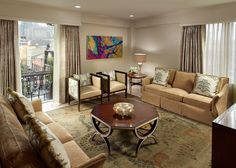 A vacation with room to entertain? Yes, please. Omni Royal Orleans | New Orleans, LA #interior #design #lisambiance