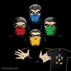 Shop Mortal Rhapsody mortal kombat t-shirts designed by amodesigns as well as other mortal kombat merchandise at TeePublic. Mortal Kombat Shirt, Escorpion Mortal Kombat, Reptile Mortal Kombat, Geeks, 480x800 Wallpaper, Ninja Art, Up To The Sky, Chef D Oeuvre, Humor