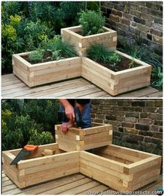 Pallet Raised Garden Bed More: