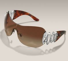 Bvlgari Alissa Shield Sunglasses